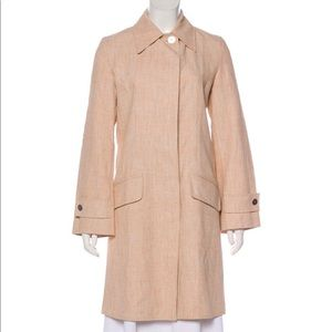 Chanel 2000 Cruise Collection Linen Trench Coat
